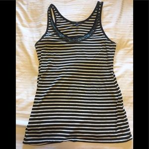 GAP bejeweled tank Size Small